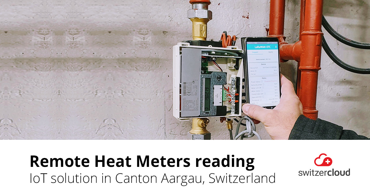 Smart Metering for District Heating Supplier