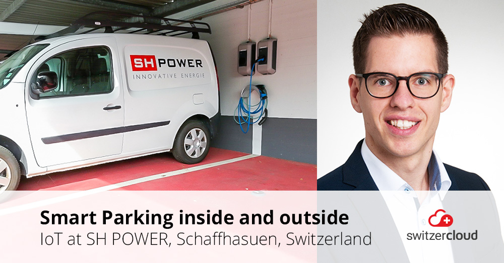 Smart Parking at SH POWER AG, Schaffhausen