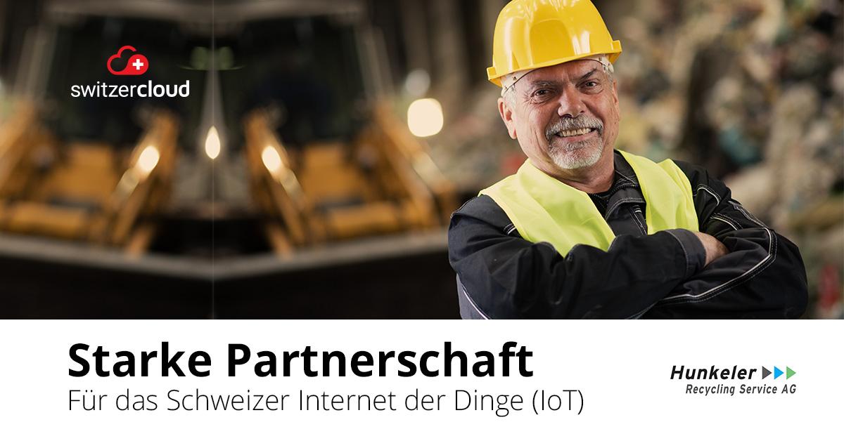 Hunkeler Recycling Services und ZENNER Connect beschliessen Partnerschaft